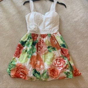 My Michelle bright floral sundress size 9